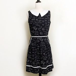 ModCloth All Eyes on Unique A-Line Dress